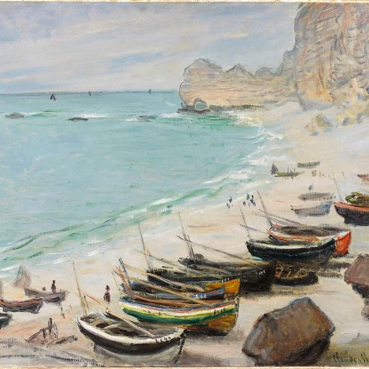 Monet and the Impressionists in Normandy
