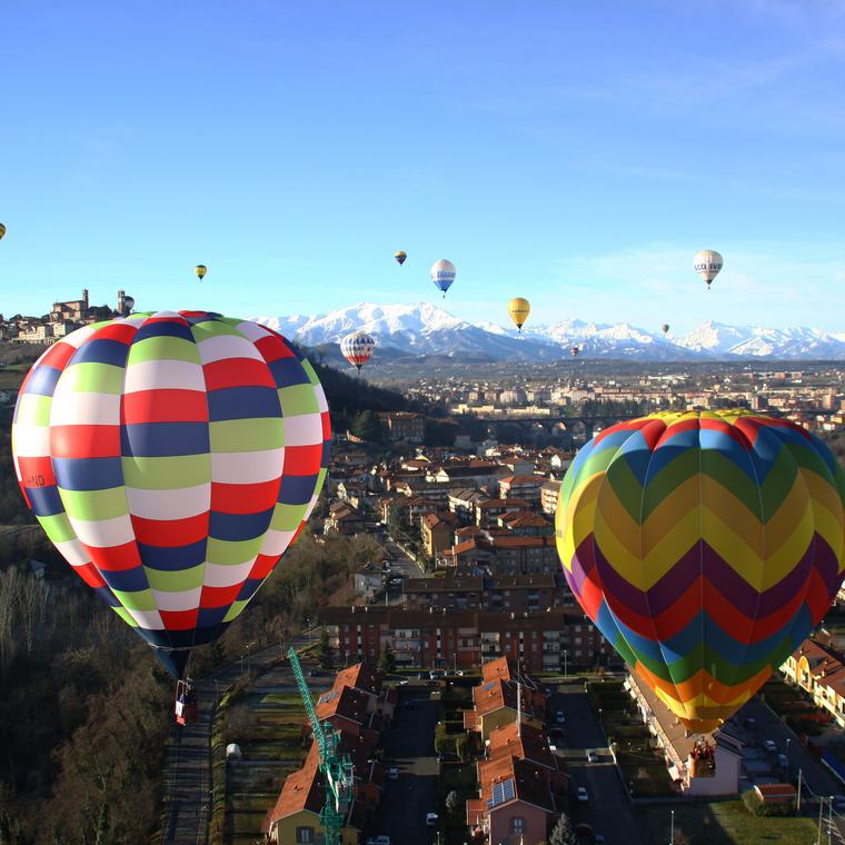 Weekend on a hot-air balloon